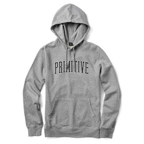 Primitive Collegiate Arch Outline Hood SP19 Athletic Heather