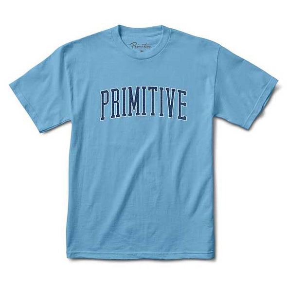 Primitive Collegiate Arch Outline Tee SP19 Carolina Blue