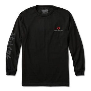 Primitive x Naruto Crows L/S Tee Black