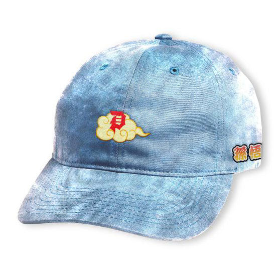 Primitive DBZ Dirty P Nimbus Washed Dad Hat Blue