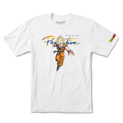 Primitive x Dragon Ball Z Nuevo Goku Saiyan White