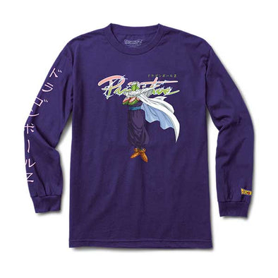 Primitive x Dragon Ball Z Nuevo Piccolo L/S Purple