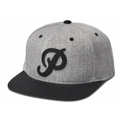 Primitive Felt Classic P Snapback Heather Grey
