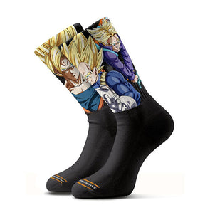 Primitive DBZ Heroes Sock Black