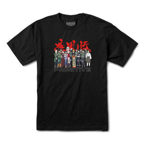 Primitive x Naruto Leaf Village Tee Black