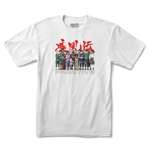 Primitive x Naruto Leaf Village Tee White