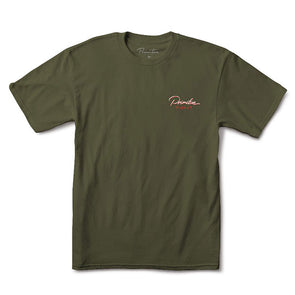 Primitive Osaka Tee Military Green