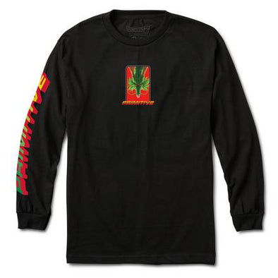 Primitive DBZ Shenron Wish L/S Tee Black