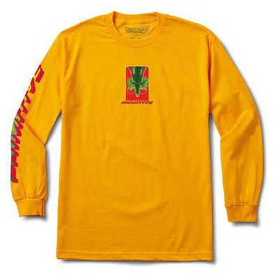 Primitive DBZ Shenron Wish L/S Tee Gold