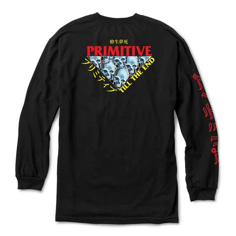 Primitive Till The End LS Tee Black