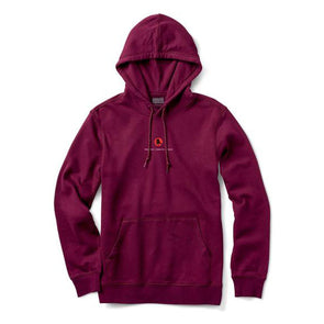 Primitive x Naruto Crows Hood Burgundy