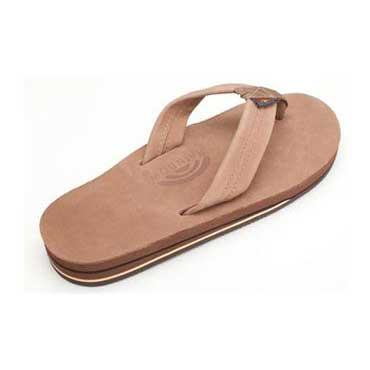 22070c5e37 Rainbow Sandals Double Layer Premier Leather with Arch Support Dark Brown  (Men)