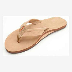 Rainbow Sandals Leather Single Sierra Brown (Men)