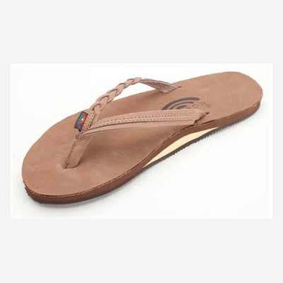 Rainbow Sandals Flirty Braidy Dark Brown (Women) - Xtreme Boardshop