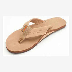 Rainbow Sandals Leather Single Sierra Brown (Women)