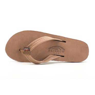 "db68c9281382 Rainbow Sandals Double Layer Arch Premier Leather 3 4 "" Strap Sierra Brown ( Women)"