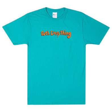 RIPNDIP Fuck Everything Tee Aqua