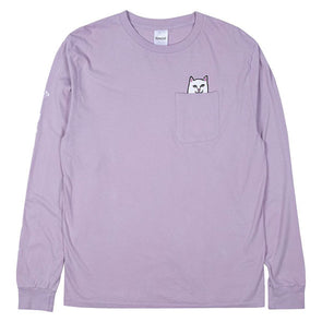 RIPNDIP Lord Nermal Pocket L/S Light Purple
