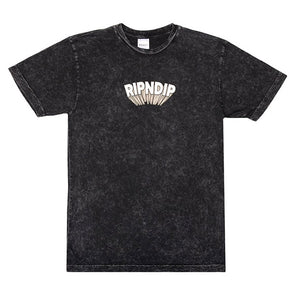 RIPNDIP Mind Blown Tee Black Mineral Wash