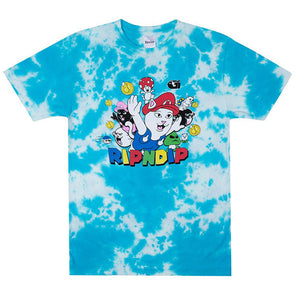 RIPNDIP Nermio Tee Blue Cloud Wash