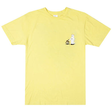 RIPNDIP Park Day Tee Light Yellow
