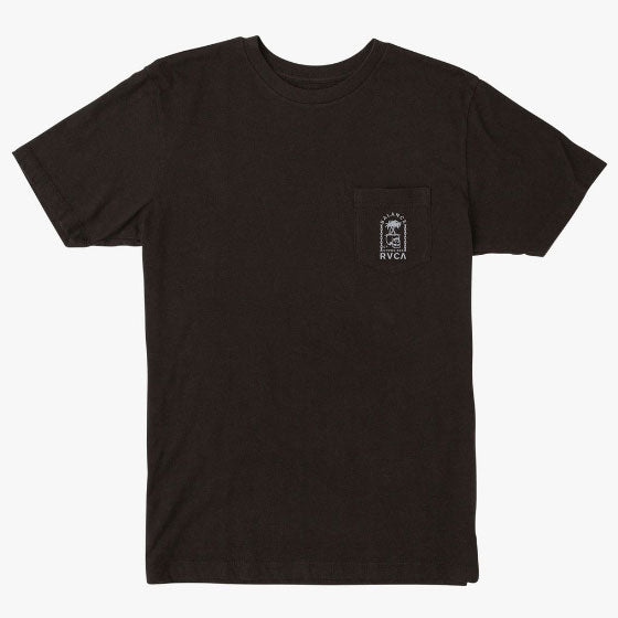RVCA Bad Palms T-Shirt Black