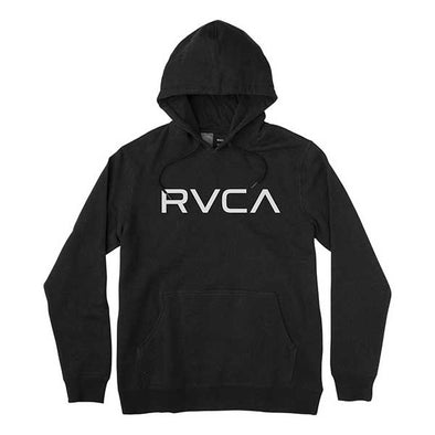 RVCA Big RVCA Fleece Hoodie Black - Xtreme Boardshop