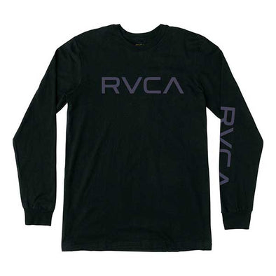 RVCA Big RVCA L/S Black - Xtreme Boardshop