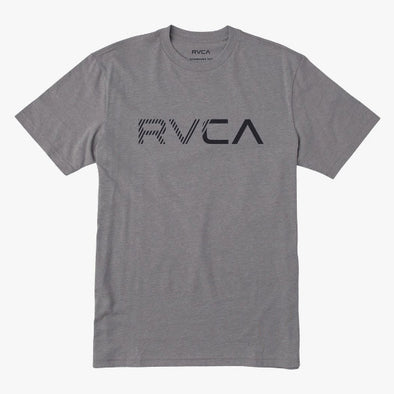 RVCA Blinded T-Shirt Grey Noise