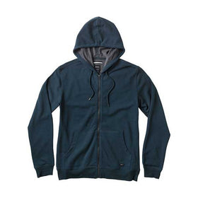 RVCA Crucial II Zip Up Hoodie Midnight