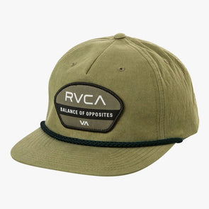 RVCA Opposite Snapback Hat Olive