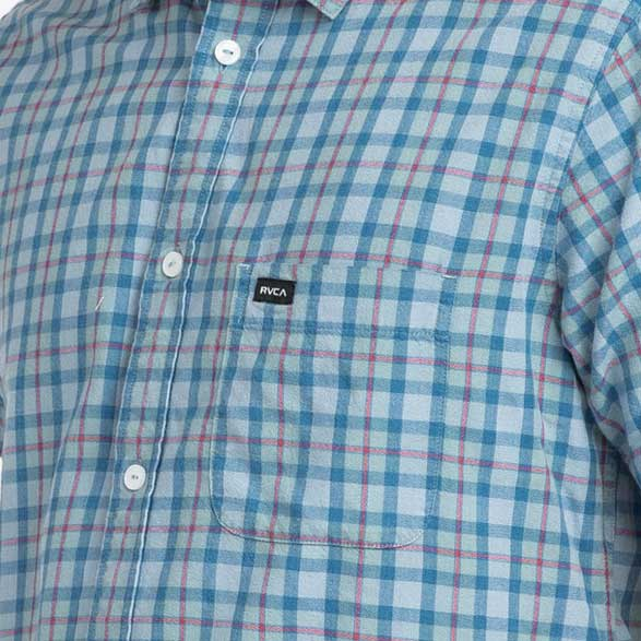 RVCA That'll Do Plaid 3 Shirt Mirage - Xtreme Boardshop