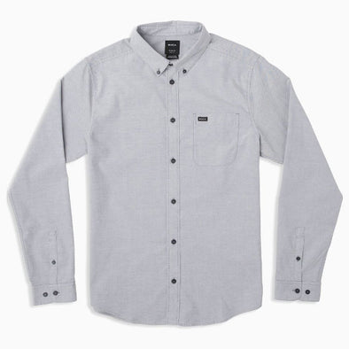 RVCA That'll Do Stretch Long Sleeve Shirt Pavement