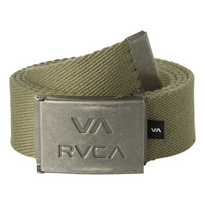 RVCA VA All The Way Web Belt Burnt Olive - Xtreme Boardshop