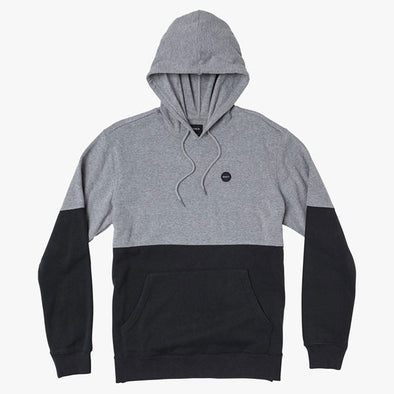 RVCA Carlisle Colorblocked Hoodie Athletic Heather