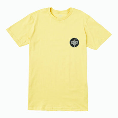 RVCA Serpent T-Shirt Bright Lemon