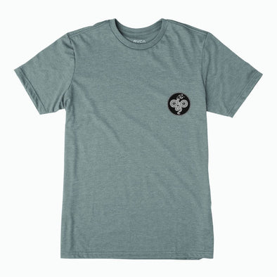 RVCA Serpent T-Shirt Grey Noise