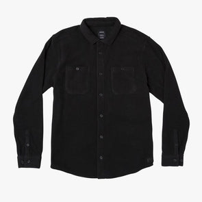 RVCA Uplift II Fleece Button-Up Shirt Black