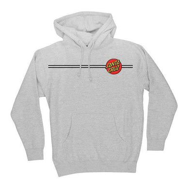 Santa Cruz Classic Dot Pullover Grey Heather - Xtreme Boardshop