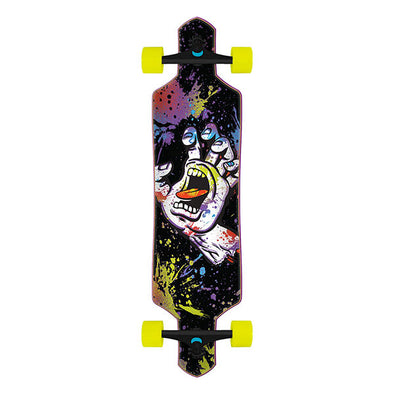 Santa Cruz Hand Splatter Drop Thru Cruiser 9.0