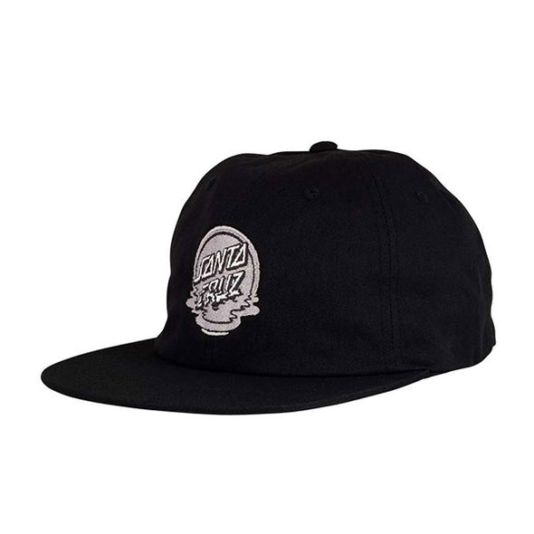Santa Cruz Dot Reflection Strapback Black