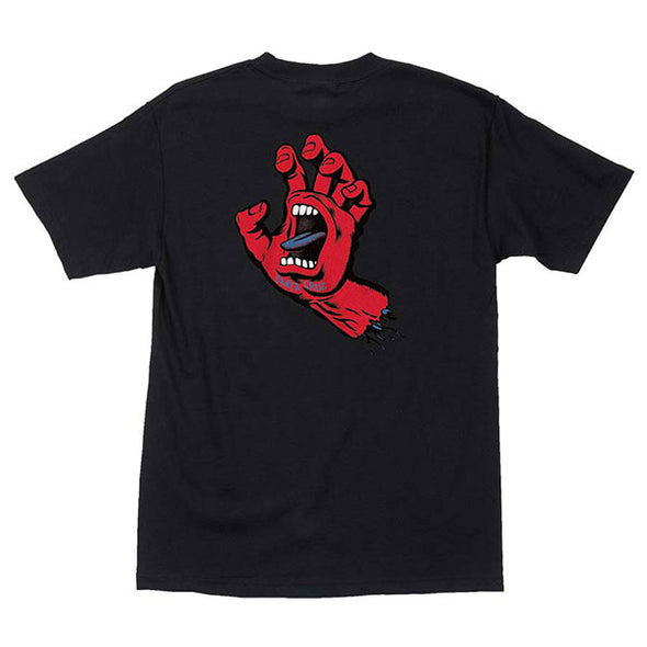 Santa Cruz F.S.U. Hand Regular S/S T-Shirt Black