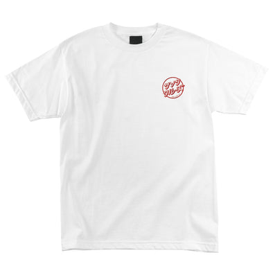 Santa Cruz Hando Regular S/S T-Shirt White