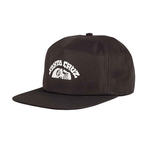 Santa Cruz Horizon Strapback Black