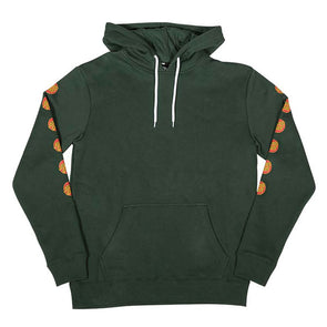 Santa Cruz Multi Dot Pullover Hooded Sweatshirt Forest