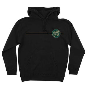 Santa Cruz Other Dot Pullover Black/Forest Green