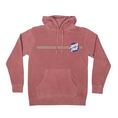 Santa Cruz Other Dot Pullover Pigment Maroon