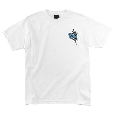 Santa Cruz Wall Hand Regular S/S T-Shirt White