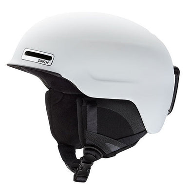 Smith Maze Snow Helmet Asia Fit Matte White