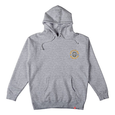 Spitfire Bighead Classic Hood Heather Grey/Gold